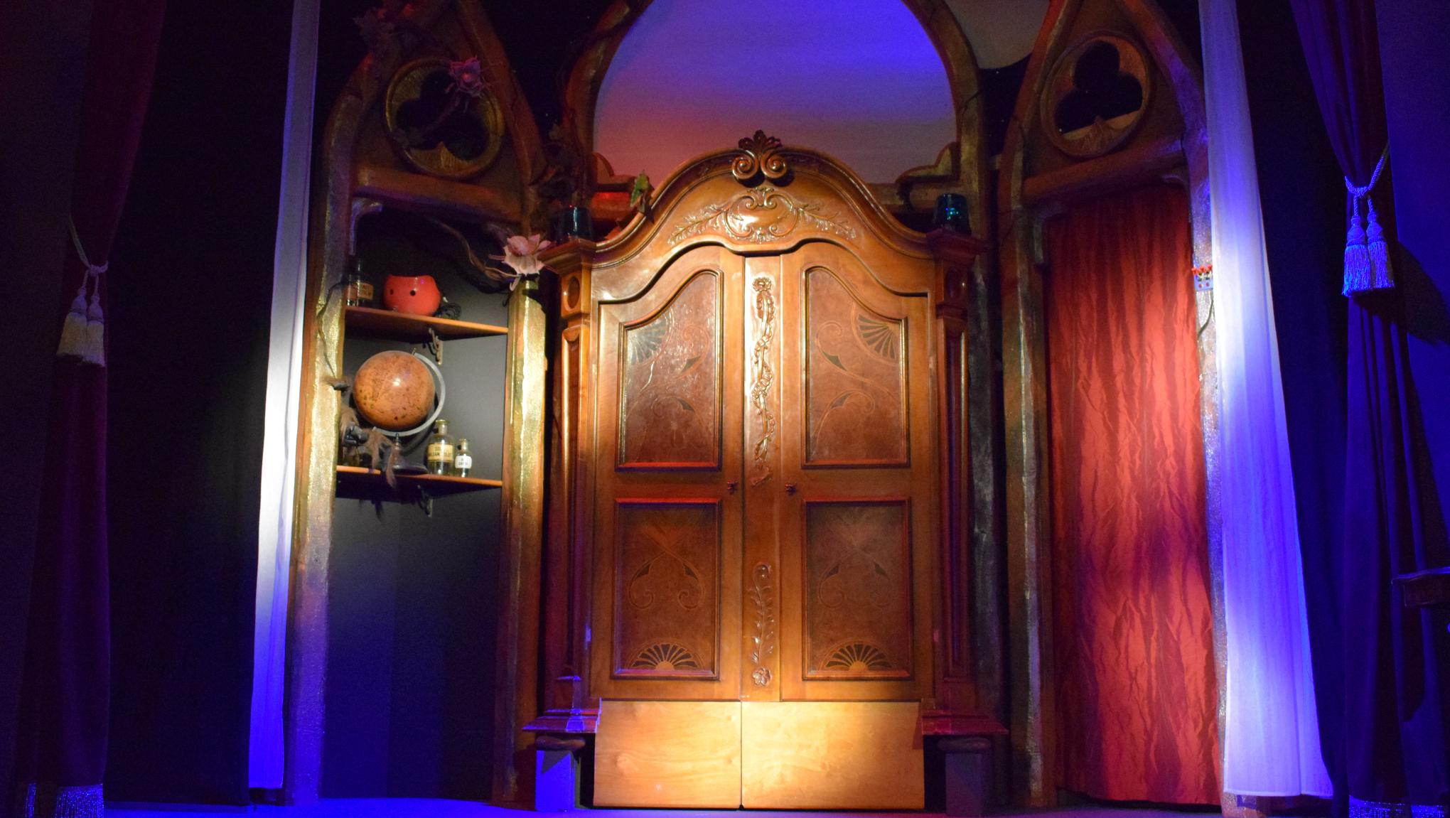 """Das Bühnenbild vom """"IMAGINARIUM Theater"""""""