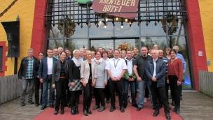 Heide Park ehrt 40 langjährige Mitarbeiter: Jubilare mit 515 Firmenjahren