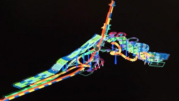 Höchste Freifall-Rutsche ProSlide DreamWorks Waterpark Concept