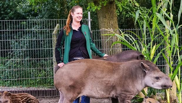Jaderpark Zoodirektorin Christine Richter