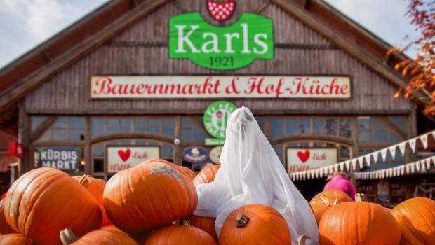 Karls Erlebnis-Dorf Elstal - Halloween-Deko