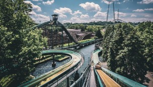 Kennywood Wildwasserbahn Log Jammer