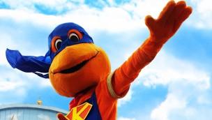 Kernie-Man Kernie's Familienpark Superheld