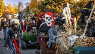 Schaurig-schöne Zeiten für Groß und Klein: Kernie's Familienpark lockt an Halloween 2017 zum Riesen-Gruselspaß