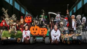 Kernie's Familienpark feiert Halloween 2018 mit vier Spukwelten in Gruselhaus