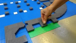 Kölner Dom aus LEGO - Grundstein im LEGOLAND Discovery Centre Oberhausen