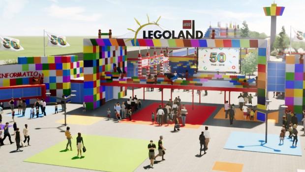 LEGOLAND Billund 2018 EIngang neu Artwork