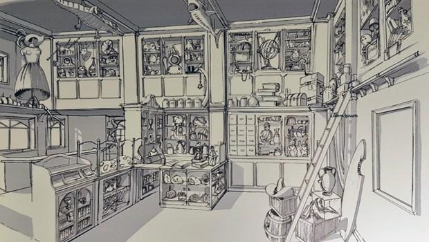 Madame Freudenreichs Curiosite Shop Artwork