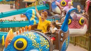 """Außergewöhnliche Abenteuer für 800 bedürftige Kinder beim """"Fun Festival"""" 2017 im Heide Park Resort"""