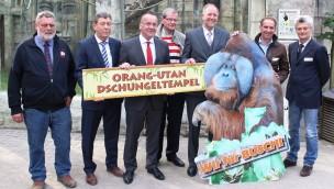 Osnabrück Zoo Orang Utan Dschungeltempel Eröffnung