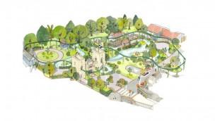 Paulton's Park Peppa Pig World Erweiterung Artwork