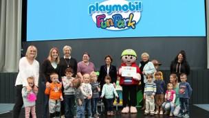 PLAYMOBIL-FunPark Barrierefreiheit Auszeichnung