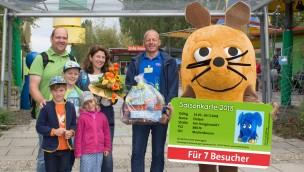 Ravensburger Spieleland begrüßt sieben-millionsten Besucher seit der Eröffnung 1998