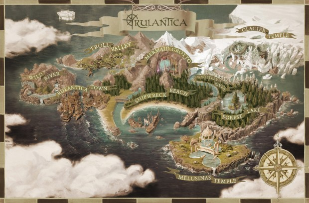 Rulantica Karte Europa-Park Wasserpark