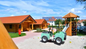 Schwaben-Dorf Schwaben-Park Spielplatz