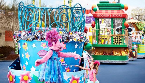 SeaWorld San Antonio Sesame Street Parade