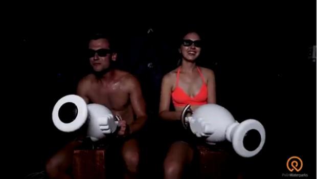 Splash Cabin Innenansicht