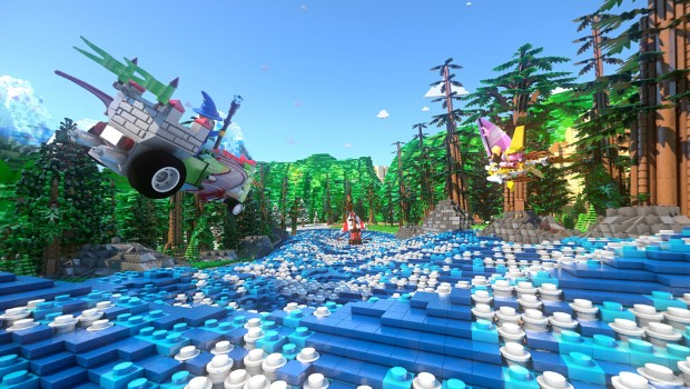 The Great LEGO Race Screenshot
