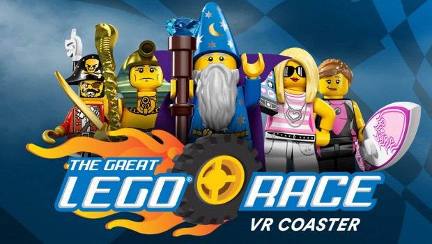 The Great LEGO Race VR Coaster Charaktere