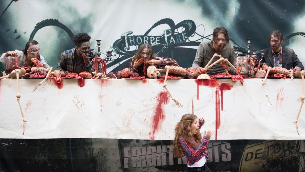The Walking Dead Fright Nights Thorpe Park 2017 Werbeplakat