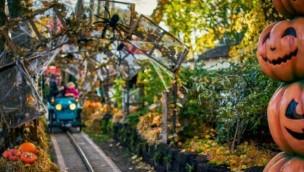 Tivoli Kopenhagen an Halloween 2017 mit Grusel-Attraktionen und -Veranstaltungen für Klein und Groß