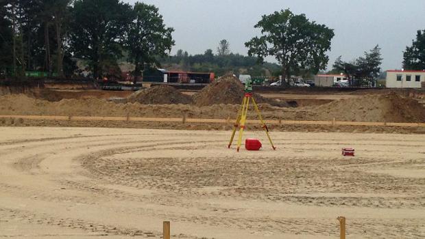 Baustelle neuer Themenbereich Toverland