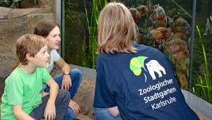 Zoo Karlsruhe im Herbst 2017 mit zwei Seminaren für Kinder