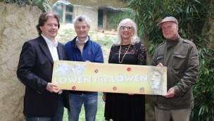 Stiftung Pro Kreatur spendet 20.000 Euro für Löwenanlage des Zoo Osnabrück