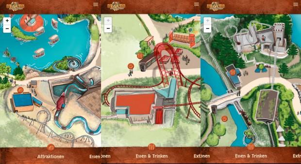 BELANTIS App Parkplan