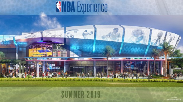 Disney Springs NBA Experience Artwork