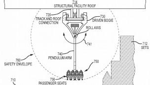 """Disney patentiert """"Swing Coaster"""": Am schienengeführten Pendel durch Kulissen schwingen"""