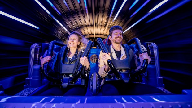 Disneyland Paris Hyperspace Mountain OnRide-Foto