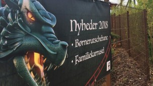 Djurs Sommerland Kinderachterbahn Familienkarussell Ankündigung