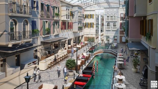 Energylandia Hotel Konzept Innenhof