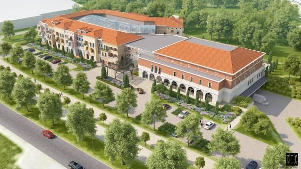 Energylandia Hotel Konzept Luftaufnahme