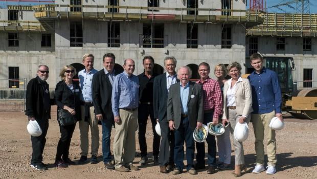 Europa-Park IAAPA 2017 Rulantica Baustellenbesichtigung