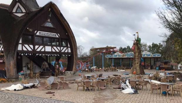 Freizeitpark Plohn Herwart verwüstung