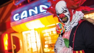 Halloween Horror Festival Candy Clown