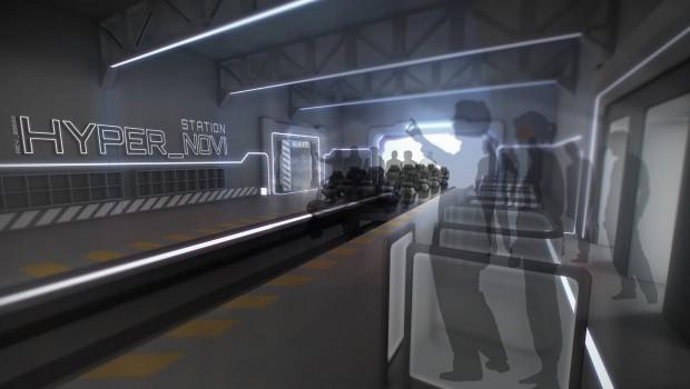 Hyperion EnergyLandia Station Artwork
