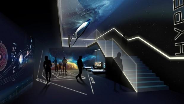 Hyperion EnergyLandia Wartebereich Konzept