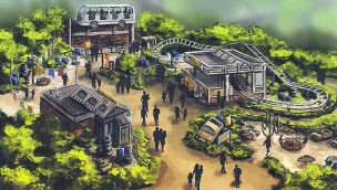 Djurs Sommerland erweitert asiatischen Themenbereich 2018 um neue Achterbahn und Attraktion für Familien