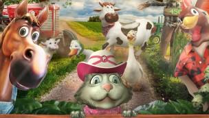 """Lagotronics Projects stellt """"Farm Fair GameChanger"""" vor: Rotierende interaktive Themenfahrt mit Bauernhof-Thema"""