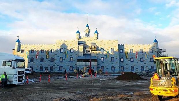 LEGOLAND Billund Hotel 2019 Baustelle Januar