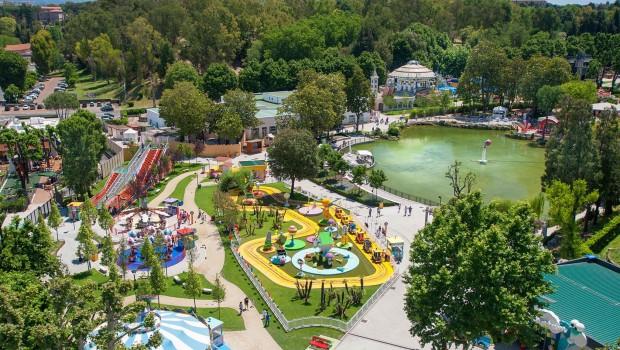 LunEur Park Freizeitpark Rom Luftaufnahme