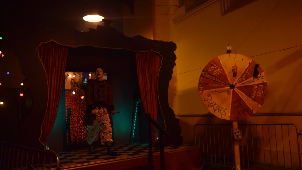 "Neuer Eingang von ""Circus of Freaks"" beim Halloween Horror Fest im Movie Park Germany"