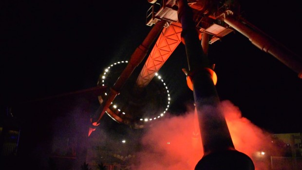Sawmill Madness beim Halloween Horror Fest im Movie Park Germany