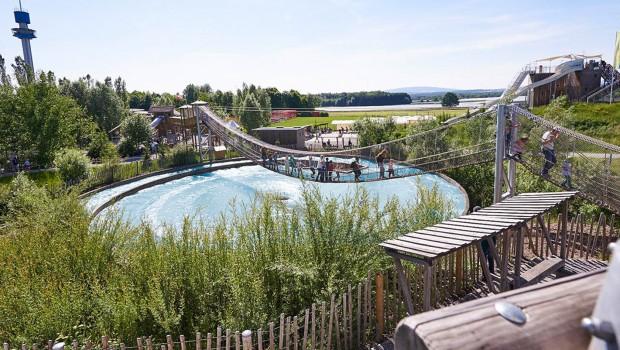 Ravensburger Spieleland Hängebrücke