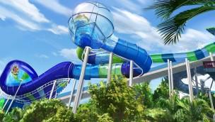 """Aquatica-Wasserpark von SeaWorld Orlando eröffnet 2018 Rafting-Rutsche """"Ray Rush"""""""