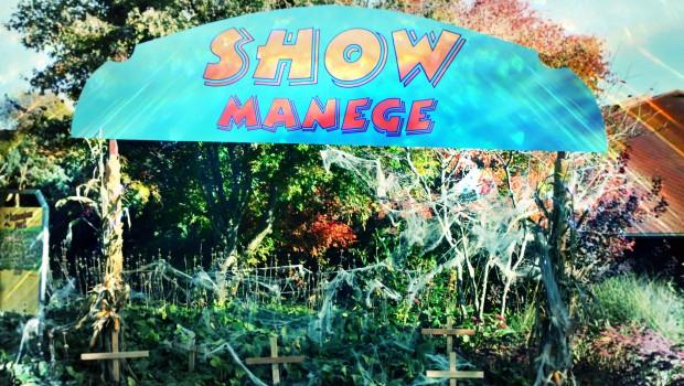 Schwaben-Park Halloween-Dekoration Show-Manege