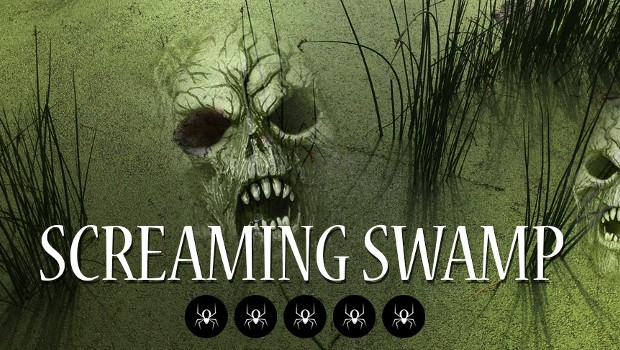 """Screaming Swamp"" Toverland Halloween 2017"
